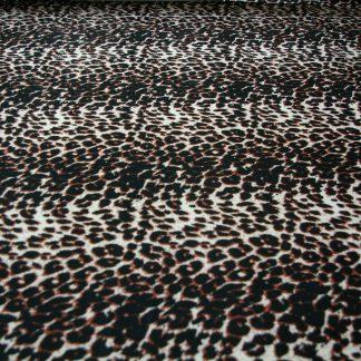 Leopard stripe Rayon Spandex